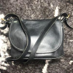 Vintage Coach purse Black Fletcher Crossbody Bag